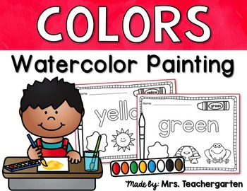 Painting Color Words