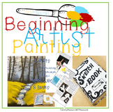 Painting For Beginners: Ink Painting, Watercolor Activities, and Acrylic