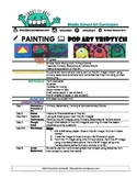 Painting- Pop Art Triptych: Middle School Art Lesson & Worksheets