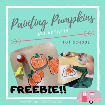 Painting Pumpkins- Art Project **FREEBIE**