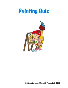 Painting Quiz