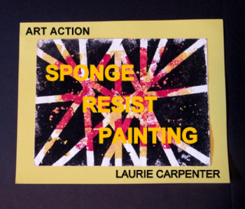 Painting-Sponge and Tape Resist