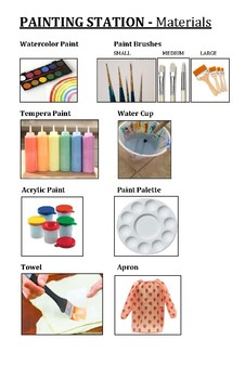 Painting Station Catalogue Bundle