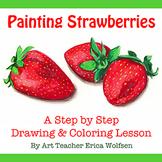 Painting Strawberries