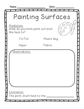 Grade 1 Painting Surfaces