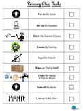 Painting Task Sheet
