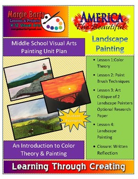 Painting Unit Plan- Color Theory & Landscape Painting