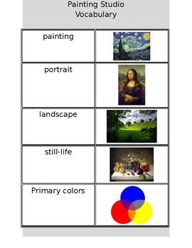 Painting Vocabulary