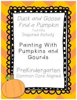 Painting With Pumpkins and Gourds