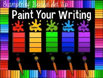 Painting Your Writing With Colorful Words {Shades of Meaning Practice}