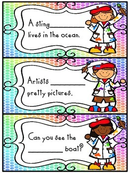 Painting is Playing! {an /ai/ and /ay/ Literacy Packet}