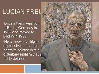 Painting skin color/Lucian Freud/portrait painting