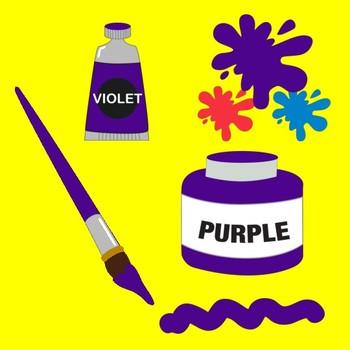 Painting Supplies Clipart, ART CLASS Clipart, {Best Teacher Tools} AMB-317