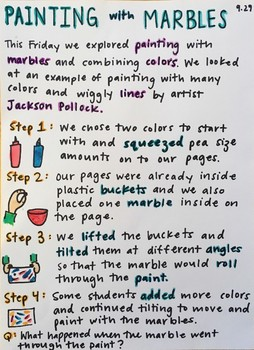 Painting with Marbles: Preschool-K