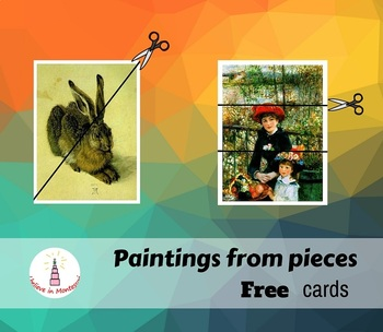 Paintings from Pieces Art Cards