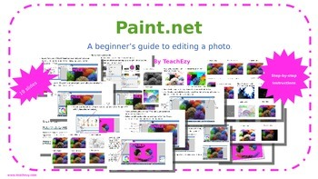 Paint.net - a beginner's guide to editing an image.