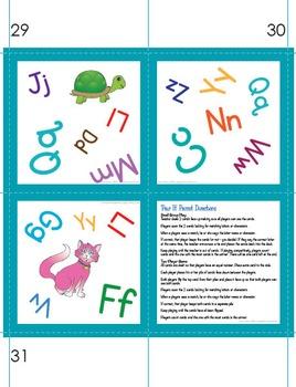 Pair It! Parrot! ABCs - Alphabet Recognition