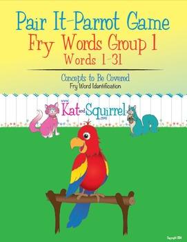 Pair It! Parrot! Fry Words 1-31
