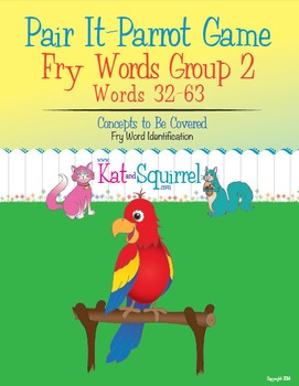 Pair It! Parrot! Fry Words 32-63