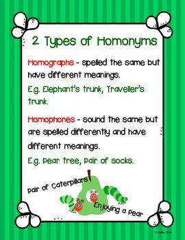 Pair Pear Tree (Homonyms)