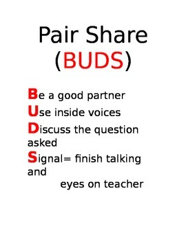 Pair Share Rules