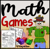Pair UP Fall Math DIce Games {Add, Plus or Minus 1 or 2, Double IT!}