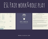 Pair Work&Role Play: Food/At The Restaurant. Student sheet
