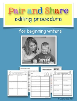 Pair and Share Editing Procedure for Beginning Writers