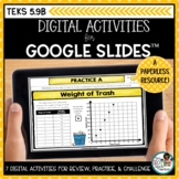 Paired Data and Scatterplots | Digital Math Activities Dis