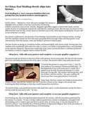High Interest Paired Fiction and Non-Fiction Text - Footbinding