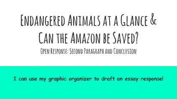 Paired Passage Essay Prep: Endangered Animals Session 7