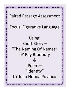 Paired Passage - Figurative Language Assessment (Test or Quiz)