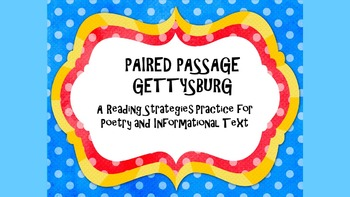 Test Prep Reading Strategies/Close Reading Paired Passage: