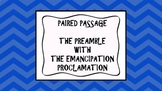 Reading Strategies/Close Paired Passage: Preamble with Ema