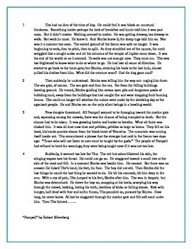 Paired Passage Reading Assessment
