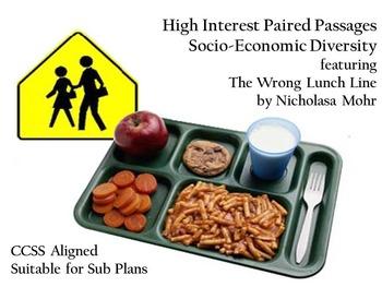 Paired Passage - Socio-Economic Diversity for Middle School ELA