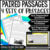 Paired Passages and Activities - with Digital Paired Passages