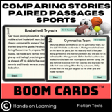 Paired Passages Comparing Stories Boom Cards 6