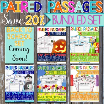 Paired Passages - BUNDLE