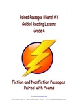 Paired Passages Blasts! #3 - Guided Reading Lessons - Grade 4