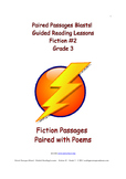 Paired Passages Blasts! Guided Reading Lessons - Fiction #2 - Grade 3
