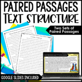 Paired Passages | Comparing Text Structures