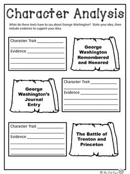 Nonfiction Close Reading - George Washington Paired Passages
