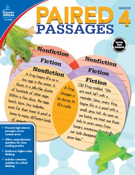 Paired Passages Grade 4 SALE 20% OFF 104889