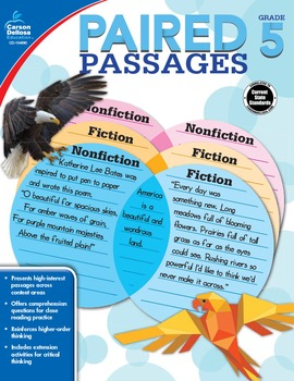 Paired Passages Grade 5 SALE 20% OFF 104890