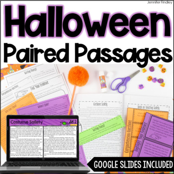 Paired Passages | Halloween Paired Passages