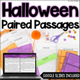 Halloween Paired Passages - w/ Digital Halloween Paired Pa