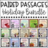 Paired Passages Holiday Bundle {Close Reading Activities Included}