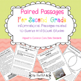 Paired Passages Informational Text- Science and Social Stu