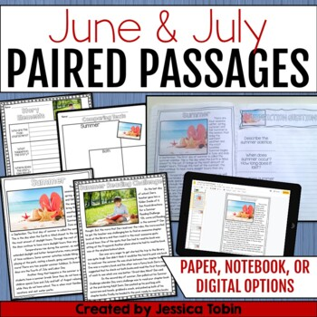 Paired Passages June and July
